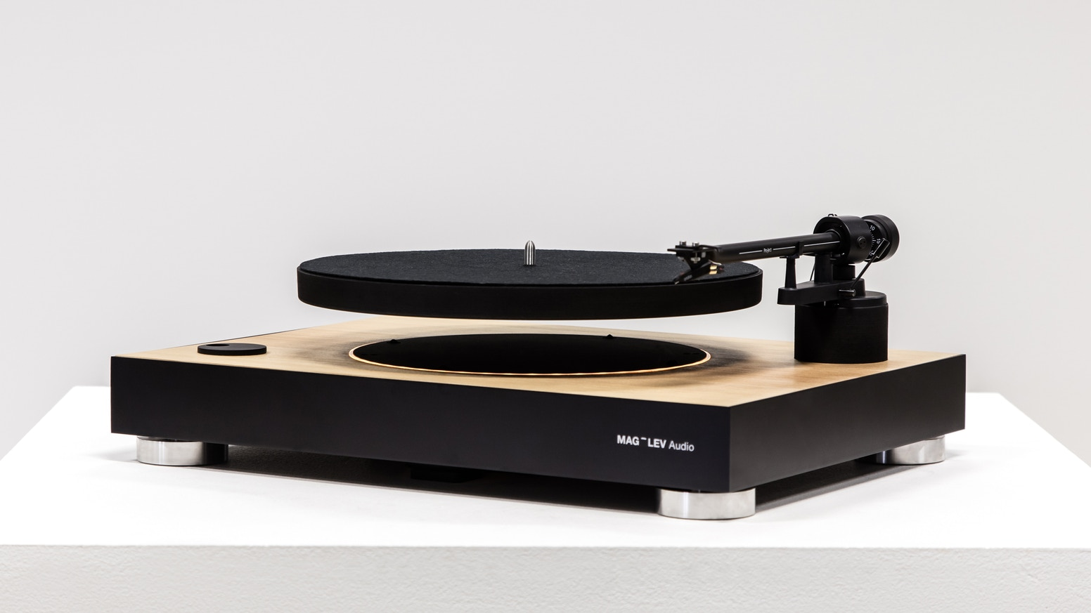 MAG-LEV Audio is The First Levitating Turntable that brings the feeling of zero gravity into your living room.