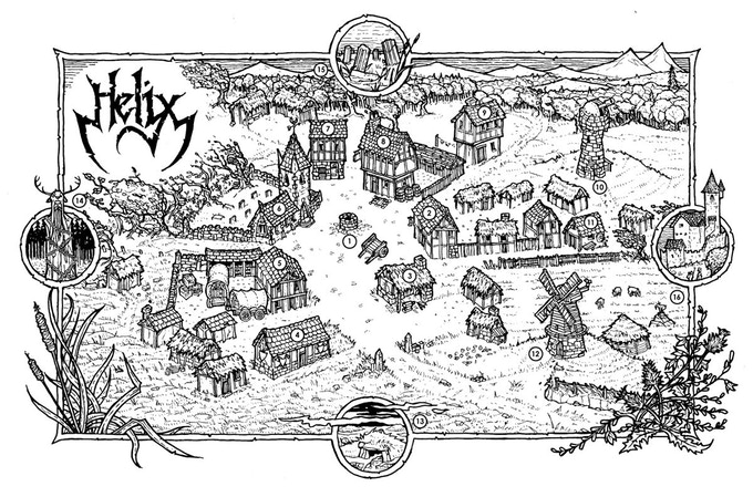 The Village of Helix