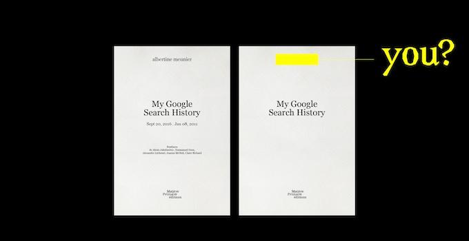 My Google Search History, tome 2 & Votre Google Search History  - contribution de 90 € ou plus