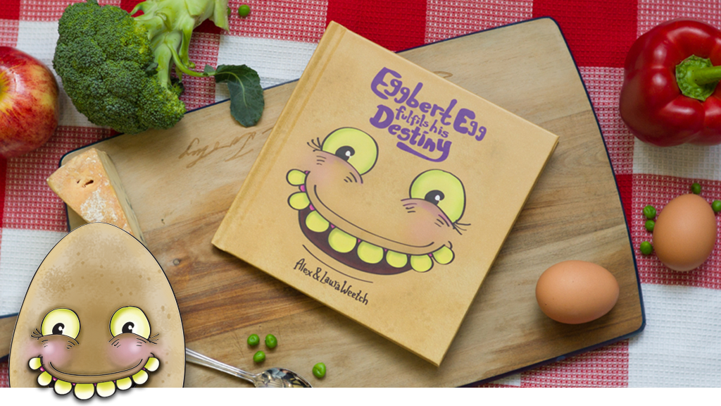 Eggbert Egg Fulfils his Destiny - A Children's Book project video thumbnail