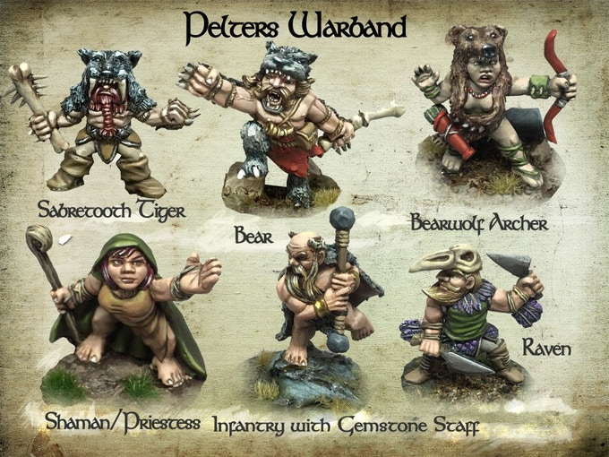 Pelter Warband