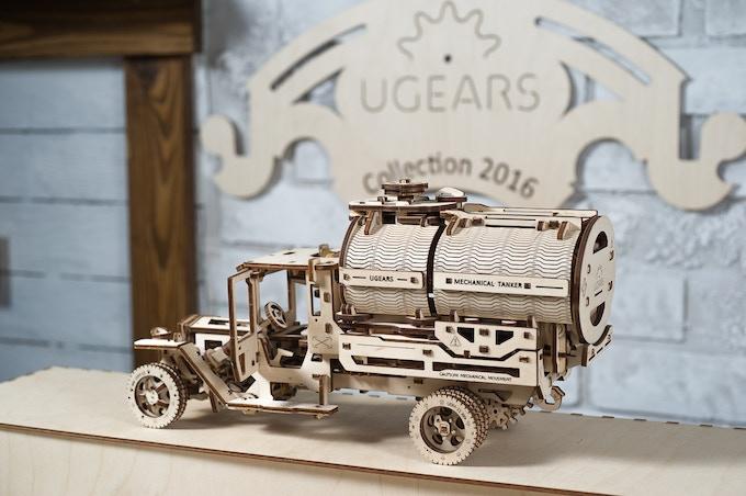 Ugears Tanker Model