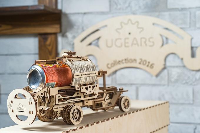 UGEARS Tanker Model - Exclusively on Kickstarter