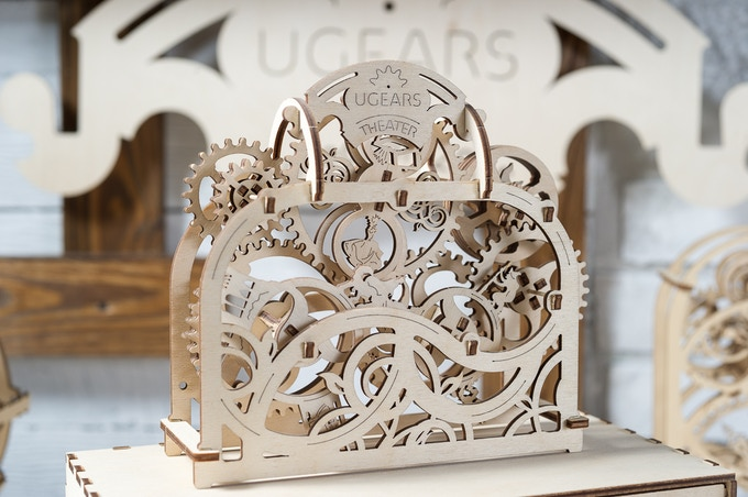 Ugears Theatre Model