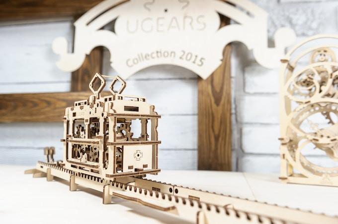 Ugears Tram Model