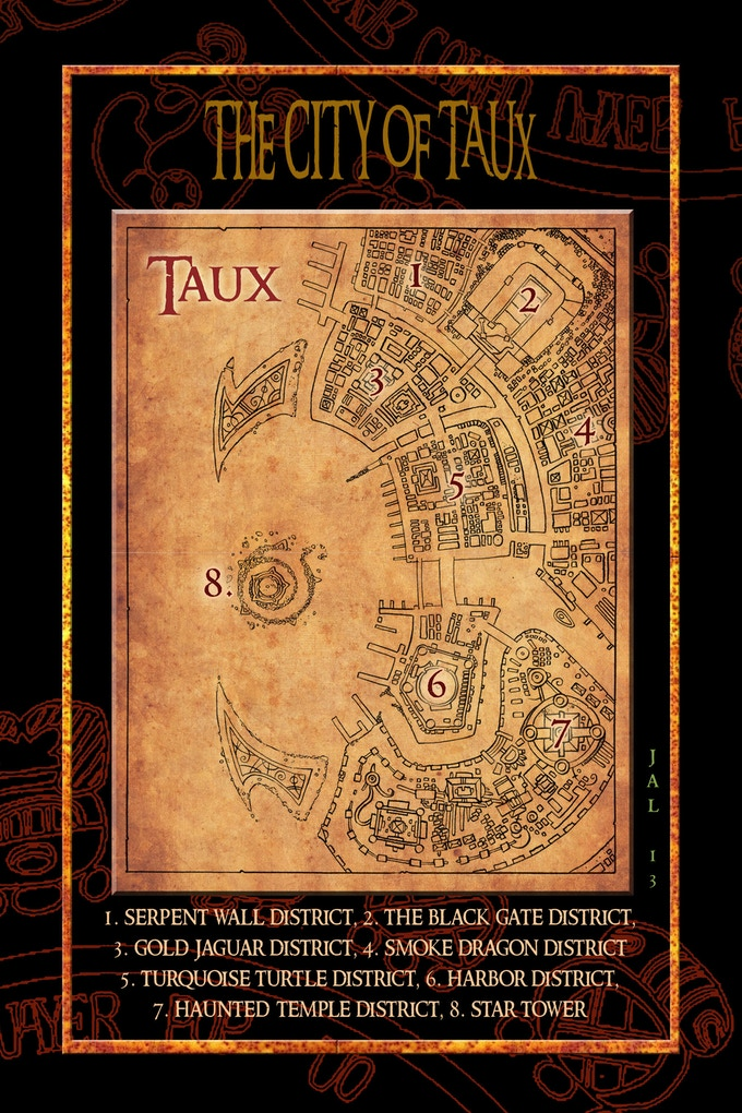 The Great Port City of Taux