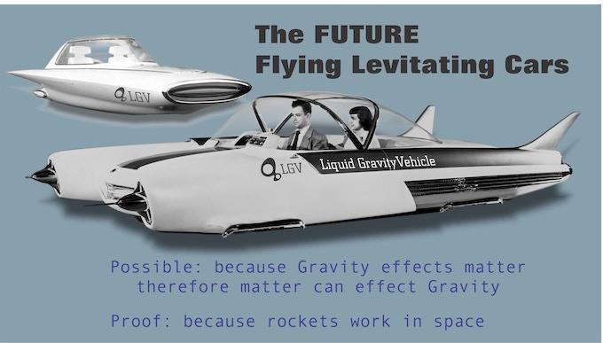 Liquid Gravity Vehicles