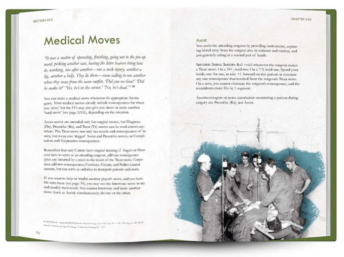 MASHED: A Korean War MASH RPG by Mark Plemmons — Kickstarter