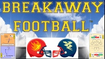 Breakaway Football: Tabletop Board Game