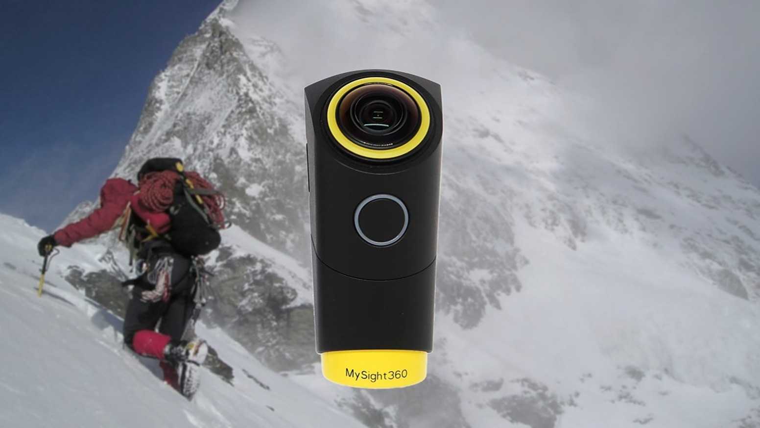 Our 240˚ wearable VR camera with smooth videos perfectly simulates the view angle of human eyes. long working time, Intelligent app....
