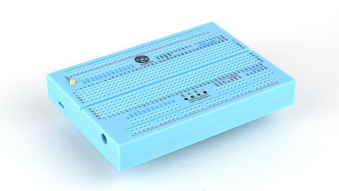 Blue STEMTera Breadboard
