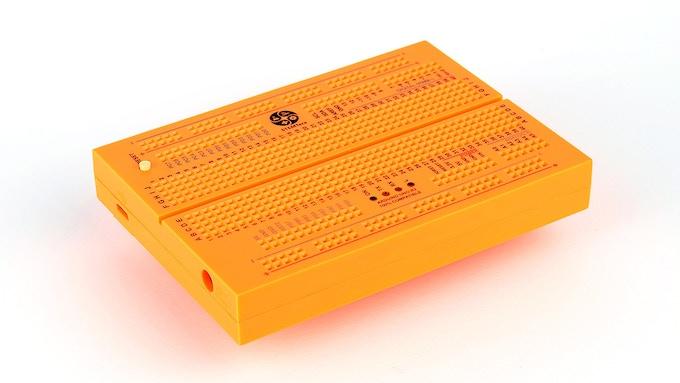 Orange STEMTera Breadboard