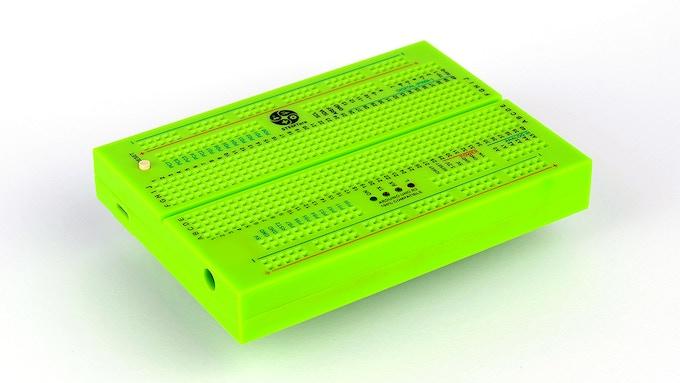 Green STEMTera Breadboard