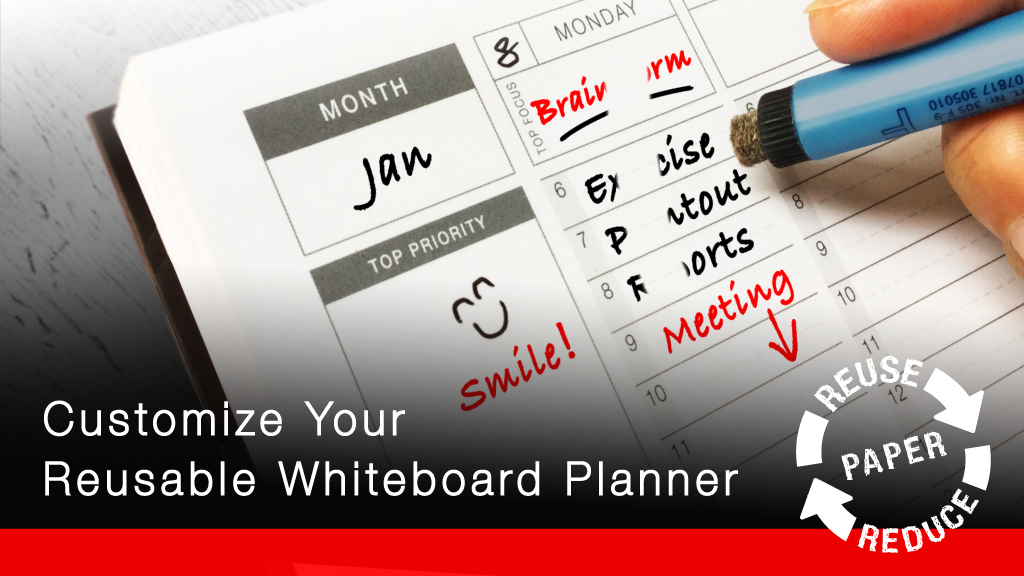 ANEW FOLIO - Customizable Whiteboard Planner Notebook project video thumbnail
