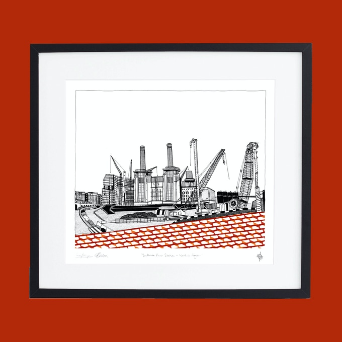Battersea Power Station - Work in Progress