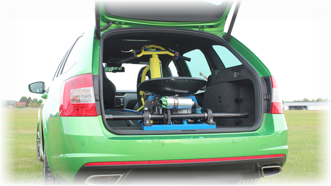 The Drift-Tricycle in a Skoda Octavia