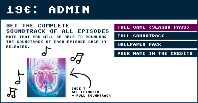 Code 7 - A Text-Based Hacking Adventure by Zein & Kevin