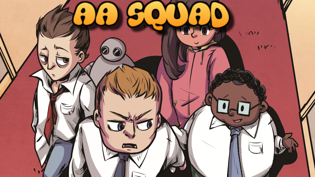 The AA Squad Issue #1 project video thumbnail