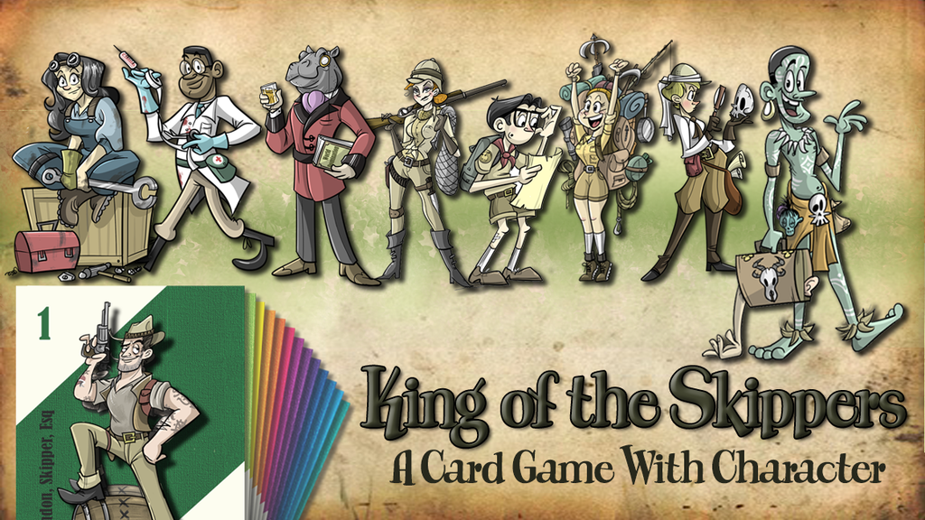 King of the Skippers: A card game with character (ReLaunch) project video thumbnail