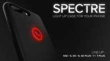 SPECTRE - Light Up Case for an iPhone