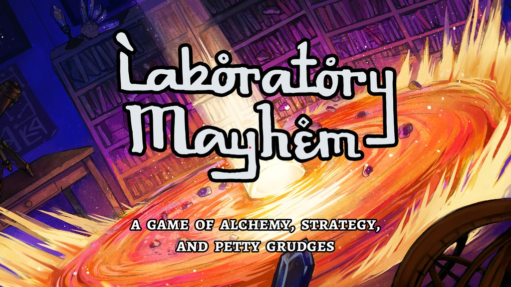 Laboratory Mayhem - An Alchemical Strategy Card Game project video thumbnail