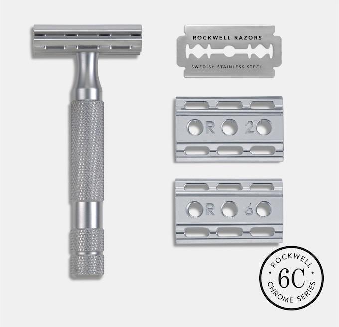 Rockwell 6C - Brushed Chrome