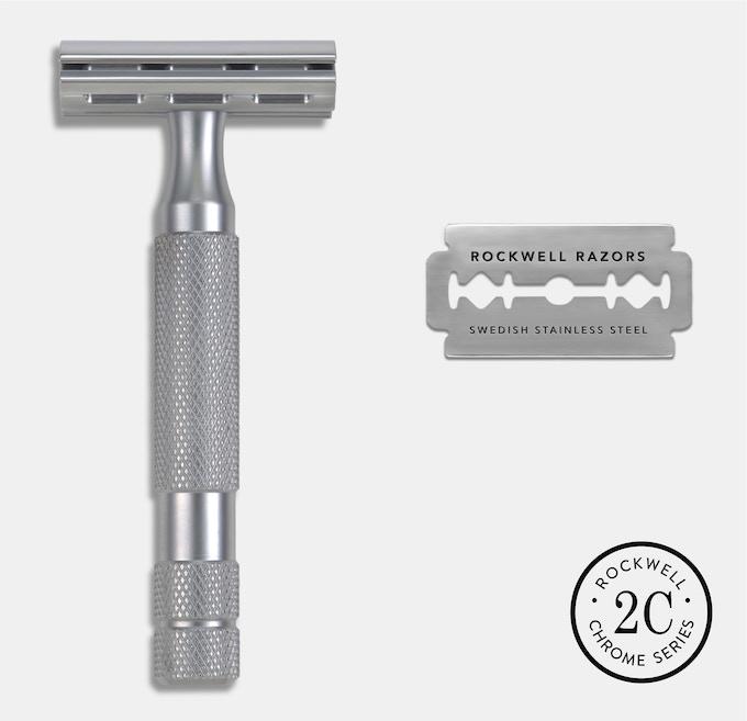 Rockwell 2C - Brushed Chrome