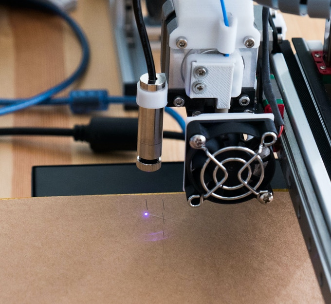 An laser engraver hack