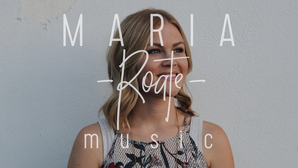 Maria Roate's debut EP! project video thumbnail