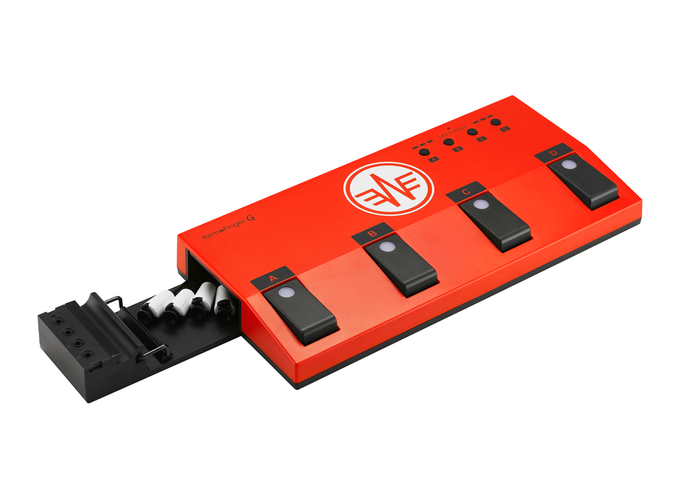 RemoFinger: Wireless Foot Controller for iPad Musicians by