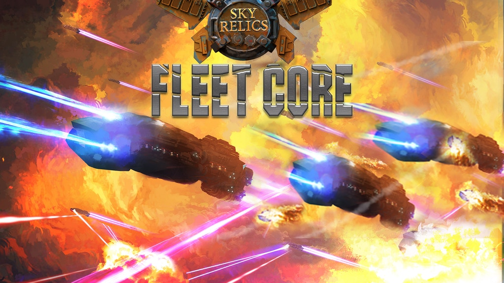 Sky Relics Fleet Core project video thumbnail