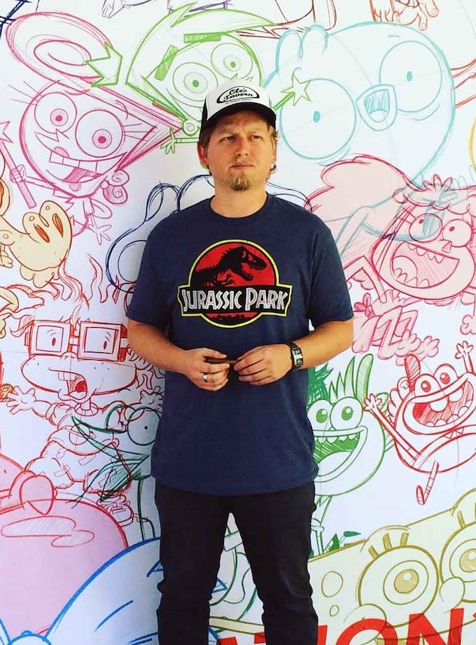 "J.Q. Hammer illustrator and designer of ""2-Ton Punch"""