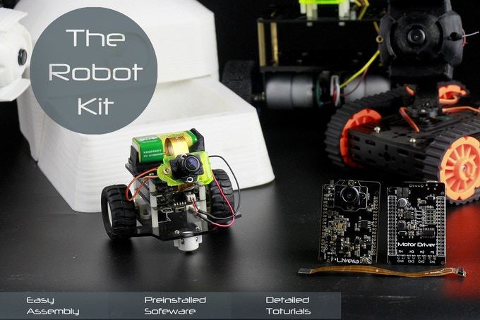 Hicat livera - Start making your first machine vision robot by Team