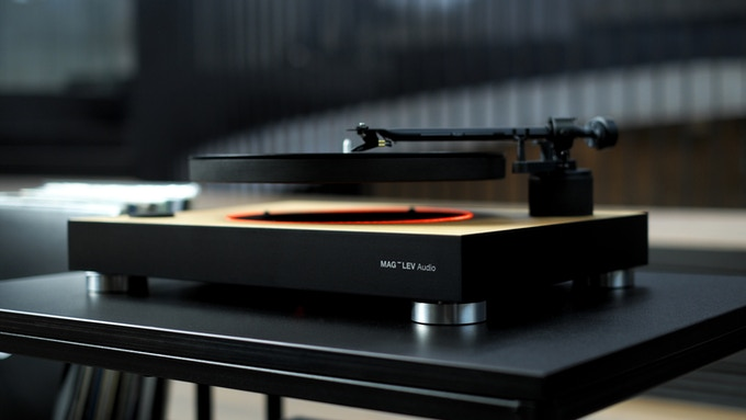 MAG-LEV Audio | The First Levitating Turntable by MAG-LEV Audio
