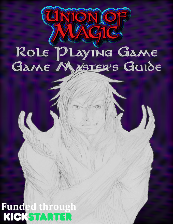 Game Master's Guide. Waiting on some art