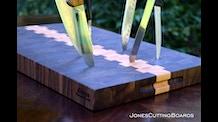 JonesCuttingBoards: Keeping Knives Sharp In Style