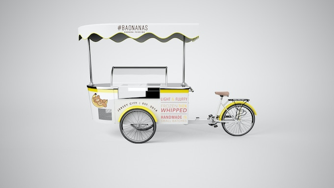 Our Custom-made, #Baomobile! Affordable, unique, and perfect for your special occasion!