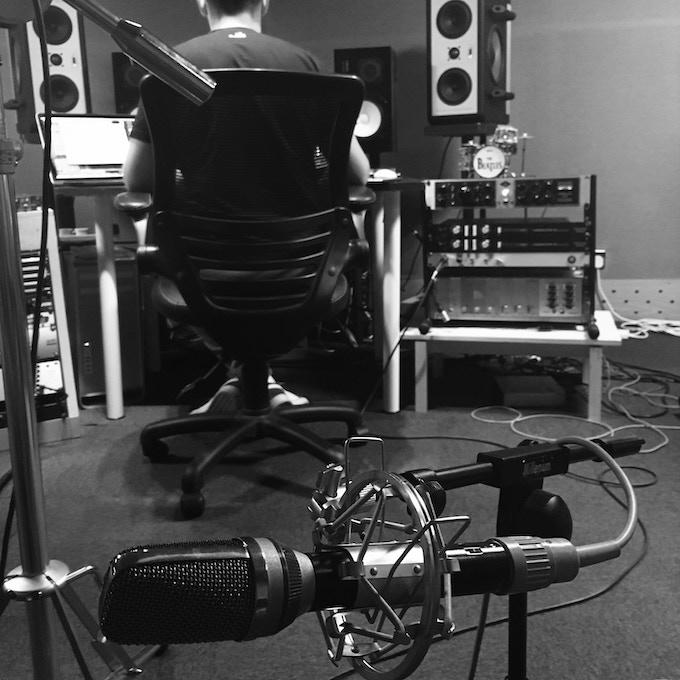 Ran Steiner at OffTape Studios, London, UK making SRBB next albums REAL!