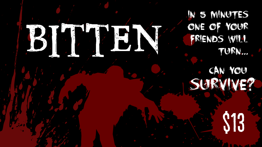 BITTEN: A 5-Minute game of Survival in the Zombie Apocalypse project video thumbnail