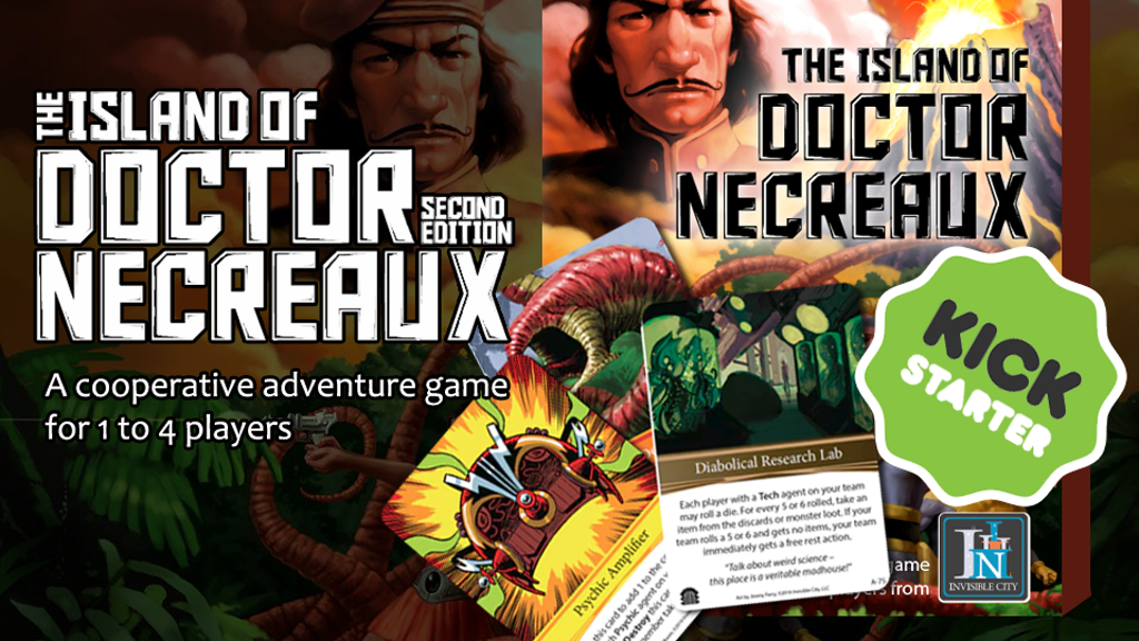 The Island of Doctor Necreaux: Second Edition project video thumbnail