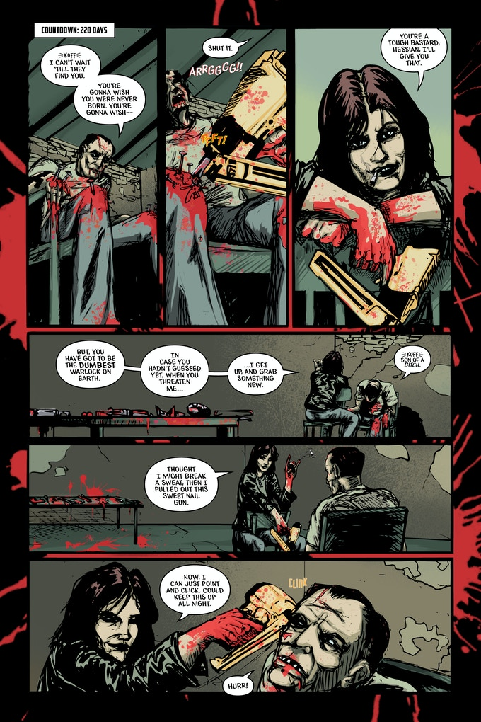 Sneak Peek from the Prologue Whore of Babylon #0.