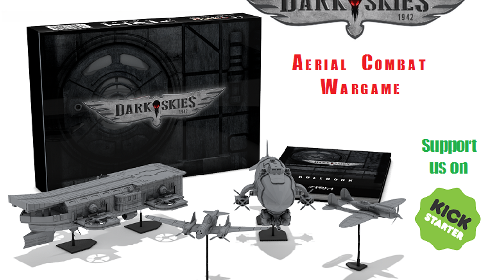 DARK SKIES 1942: a 15mm aerial wargame project video thumbnail
