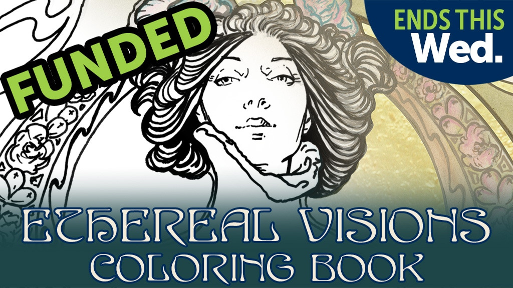 Ethereal Visions Tarot Coloring Book - Art Nouveau project video thumbnail