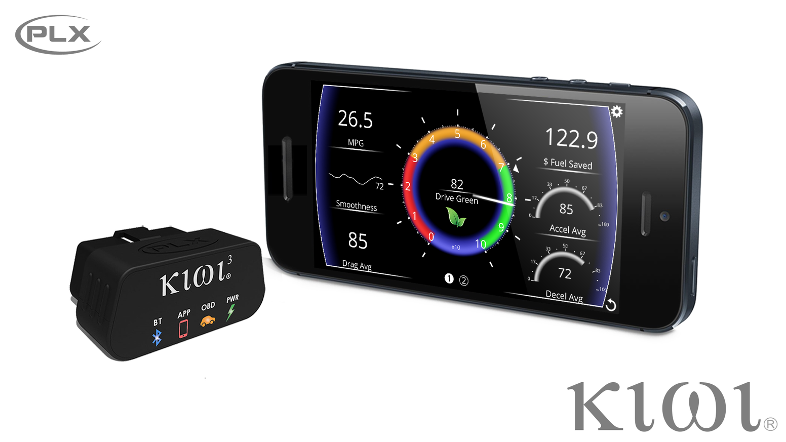 Kiwi - OBD Car Connected App Reinvented by PLX Devices