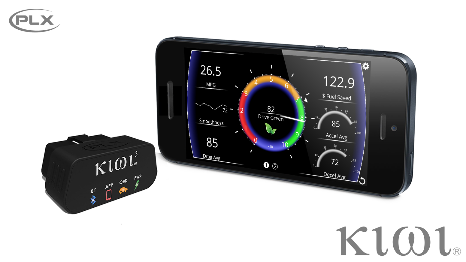 kiwi obd car connected app reinvented by plx devices kickstarter