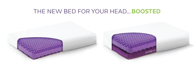 Purple 174 Pillow The World S First No Pressure Head Bed By