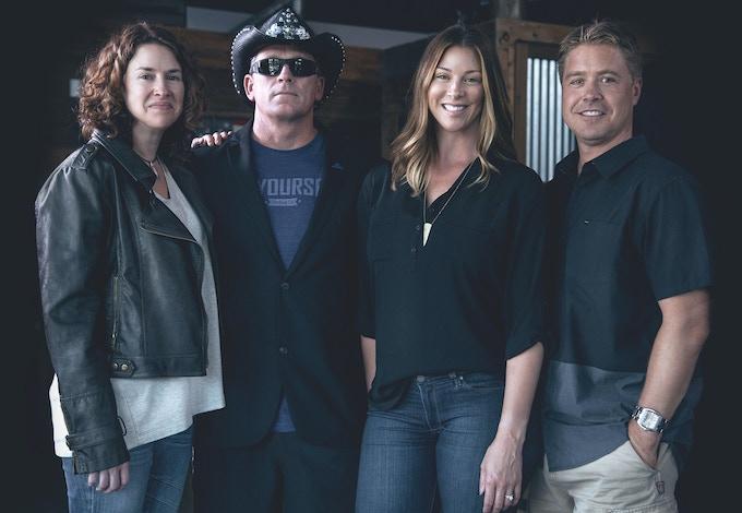 Left to right: Kim, McB, Celeste, and Brad