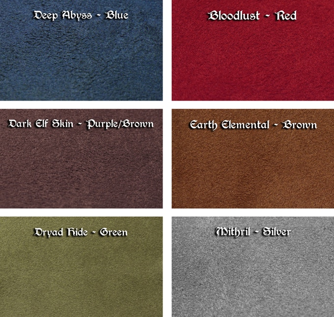 CAVALRY Colorways (Subject to Vendor Availability)