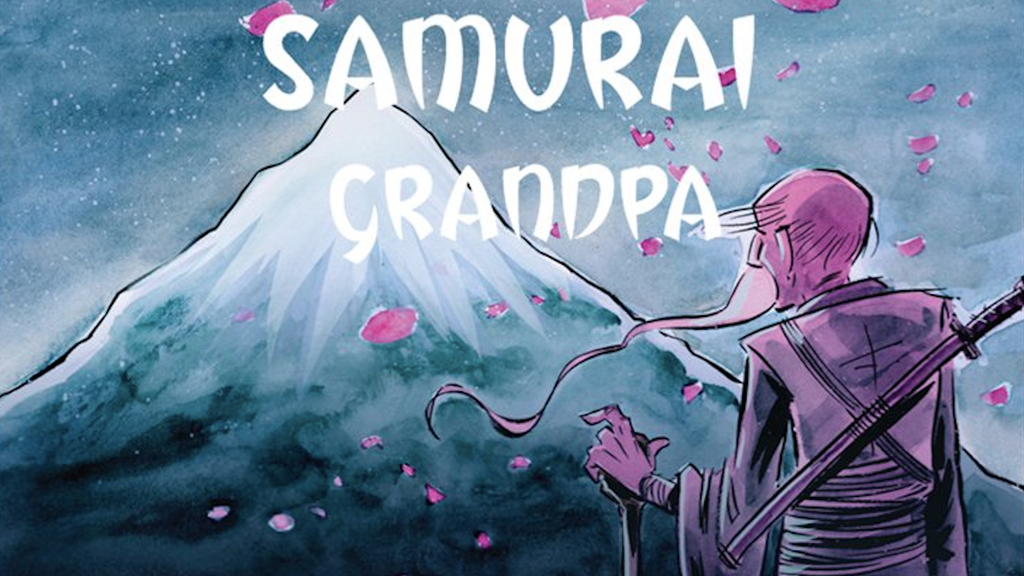 Samurai Grandpa - A Complete Graphic Novel project video thumbnail