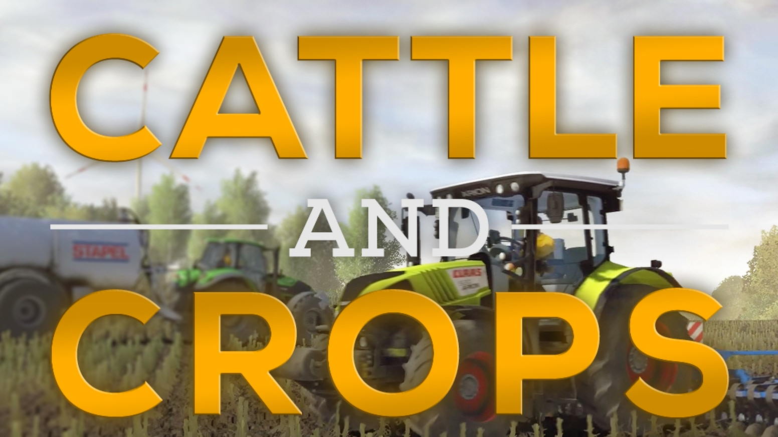 Next-Gen farming simulation and management game for PC - Made in Germany